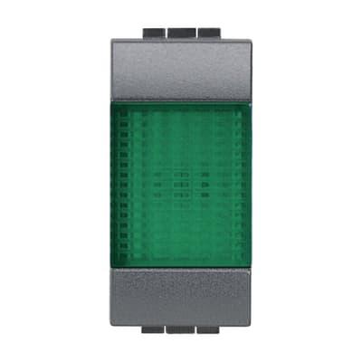 Spia BTICINO Living light verde