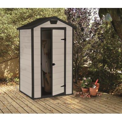 Casetta da giardino in polipropilene Lineus 4x3 0.98 m² spessore 16 mm