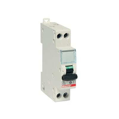 Interruttore magnetotermico BTICINO FC881C16 1P+N 16A C 1 modulo 230V