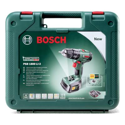 Trapano avvitatore a batteria PSB1800LI-2, 18 V, 1.5 Ah, 1 batteria