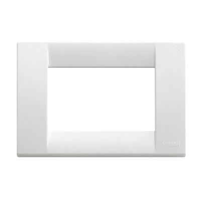 Placca VIMAR Idea 3 moduli bianco brillante
