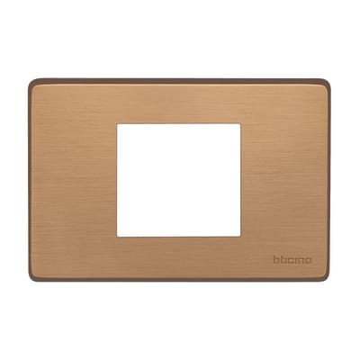 Placca BTICINO Magic 1 modulo bronzo