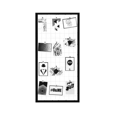 Cornice Grid per 12 fotografie 10 x 15 nero