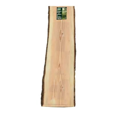 Tavola legno massello pino douglas L 200 x H 31 cm Sp 30 mm