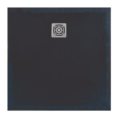 Piatto doccia resina FS25 100 x 100 cm antracite