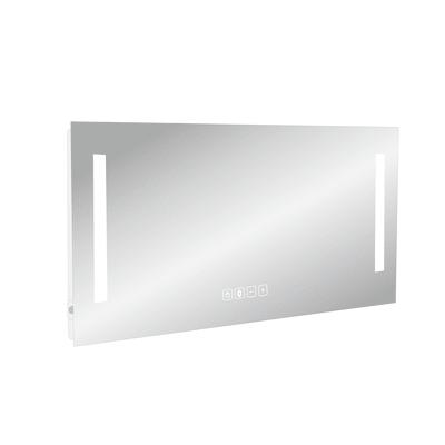 Specchio con illuminazione integrata bagno rettangolare Suono L 120 x H 70 cm SENSEA