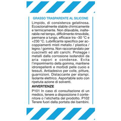 Grasso silicone CRC 125 ml