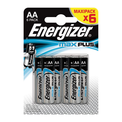 Pila AA ENERGIZER Max Plus BP6 6 batterie