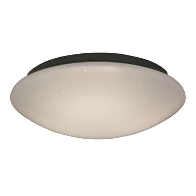 Plafoniera Modica bianco, in plastica, diam. 40.0 , IP20 INSPIRE