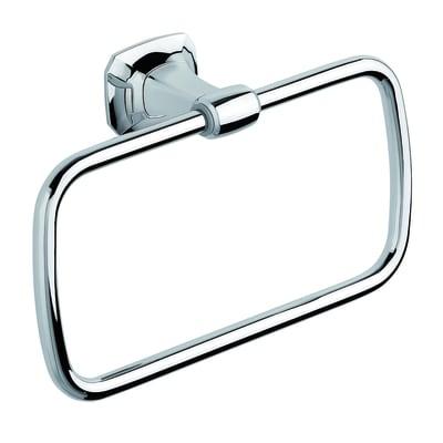 Porta salviette ad anello Aida cromo lucido L 20.5 cm