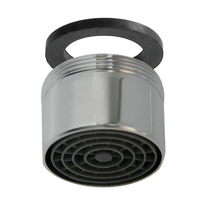 Aeratore per rubinetto per vasca cromo
