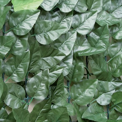 Siepe artificiale alloro L 3 x H 1.5 m