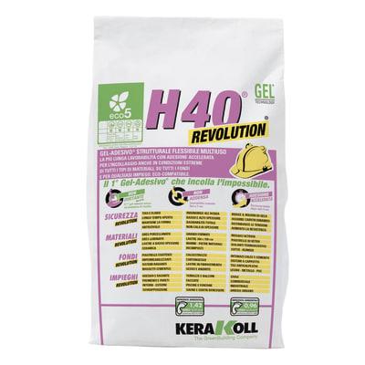 Colla in polvere h40 Revolution KERAKOLL 5 kg bianco