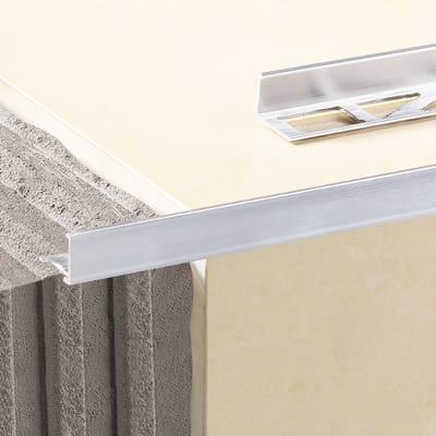 Profilo angolare interno alluminio anodizzato 0.8 x 250 cm