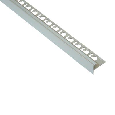 Profilo angolare interno Prostep All alluminio 0.3 x 270 cm