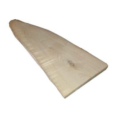 Rondella tondo in castagno grezzo 130/180 x 250/300 x 15 mm