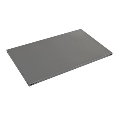 Ripiano in metallo L 60 x H 3 x P 40 cm grigio