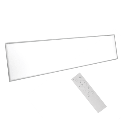 Pannello led Gdansk 30x120 cm rgb cct dimmerabile, 5300LM INSPIRE