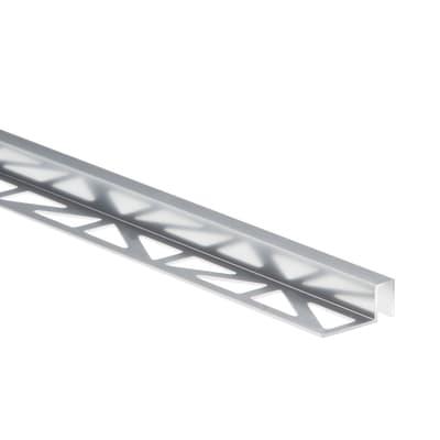Profilo angolare interno alluminio anodizzato 1 x 250 cm