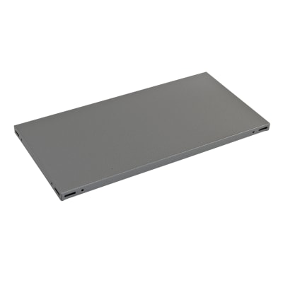 Ripiano in metallo L 100 x H 3 x P 40 cm grigio
