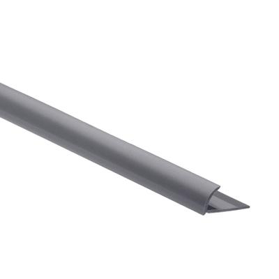 Profilo angolare interno pvc 1 x 250 cm prezzi e offerte for Profilo alluminio led leroy merlin