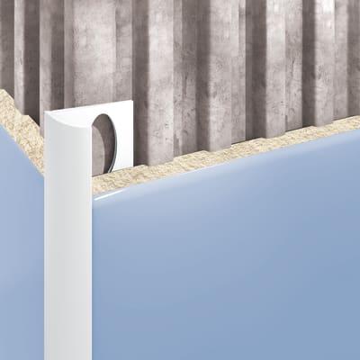 Profilo angolare interno pvc 1 x 250 cm