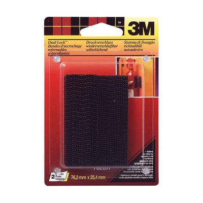 Velcro Adesivo Dual Lock 25 mm x 7.5 cm 6 pezzi