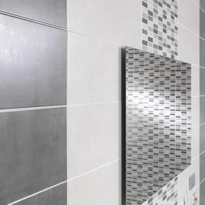 Specchio adesivo bagno rettangolare Semplice L 60 x H 90 cm