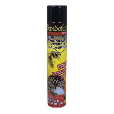 Insetticida schiumogemo per nidi di vespe e calabroni getto oltre 4 m 750