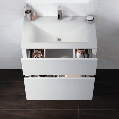 Mobile bagno Elegance grigio L 75 cm
