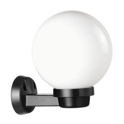 Applique Globo in plastica, opale, E27 MAX60W IP44