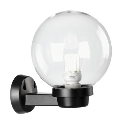 Applique Globo in plastica, trasparente, E27 MAX60W IP44