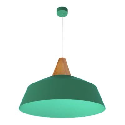 Lampadario Kon verde, in metallo, diam. 50 cm, E27 MAX53W IP20 LUMICOM