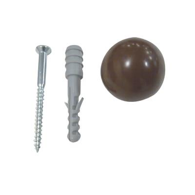 Fermaporta FISCHER in acciaio 6 pezzi