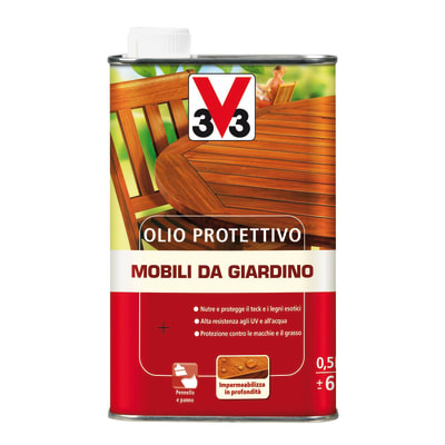 Olio V33 Mobili da giardino per esterno 0.5 L