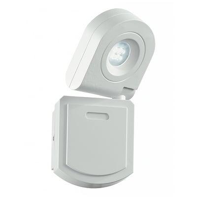 Proiettore LED integrato SHEDAR/10W in metallo, bianco, 10W 720LM IP44