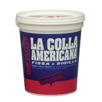 Adesivo di fissaggio Colla americana  bianco 800 g