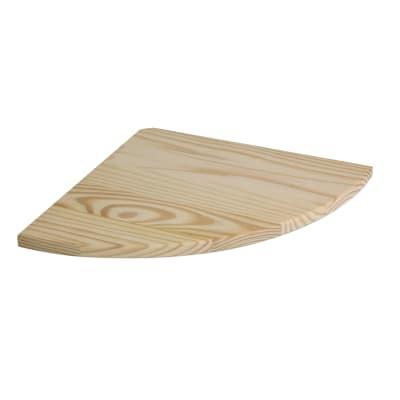 Mensola Spaceo L 30 x P 30 cm, Sp 2 cm pino
