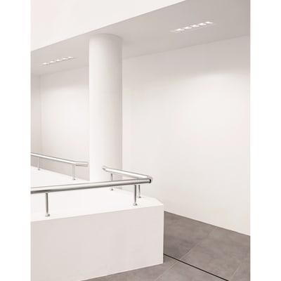 Faretto da incasso rettangolo Olympia in gesso, bianco, 9.5xGU10 5xMAX40W IP20 TECNICO 5 pezzi