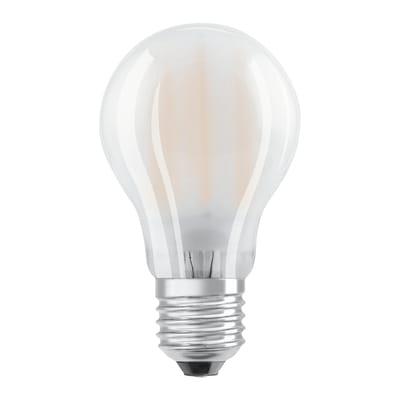 Lampadina LED filamento, E27, Goccia, Opaco, Luce calda, 11W=1521LM (equiv 100 W), 320° , OSRAM