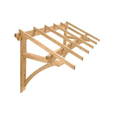 Tettoia Medecis in legno L 205 x P 120 cm struttura Legno