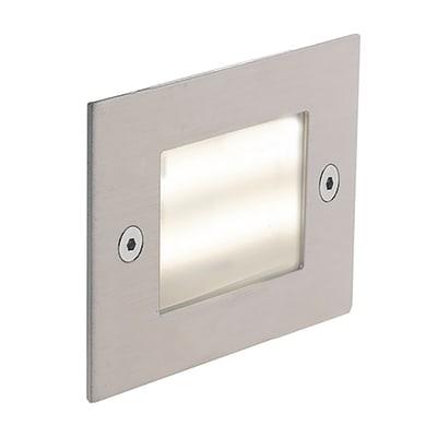 Faretto da incasso da esterno quadrato BOLT-Q71 LED integrato 3W 240LM 1 x IP65