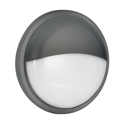 Plafoniera Ever LED integrato in policarbonato, nero, 30W 2300LM IP65