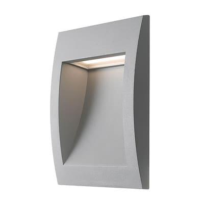 Faretto da incasso da esterno quadrato LYKAN-Q140 LED integrato 3W 110LM 1 x IP54