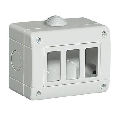 Scatola BTICINO Idrobox magic 3 moduli