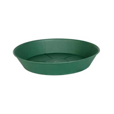 Sottovaso in plastica colore verde Ø 12 cm
