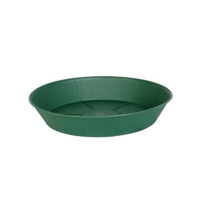 Sottovaso in plastica colore verde Ø 16 cm