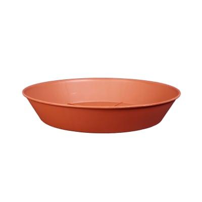 Sottovaso in plastica colore cotto Ø 24 cm