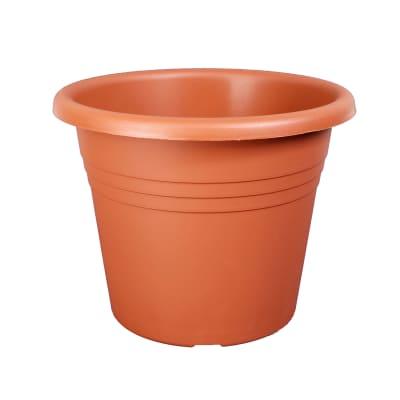 Vaso Isola in plastica colore cotto H 29 cm, Ø 40 cm