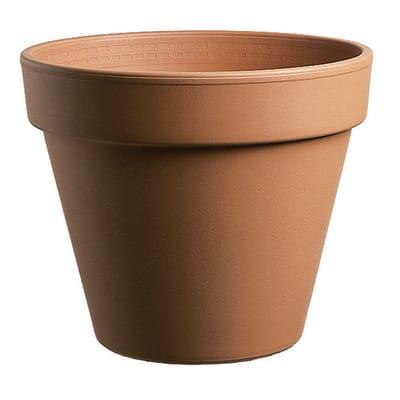 Vaso Pollicino DEROMA in argilla colore cotto H 6 cm, L 7 x P 6 cm Ø 7 cm